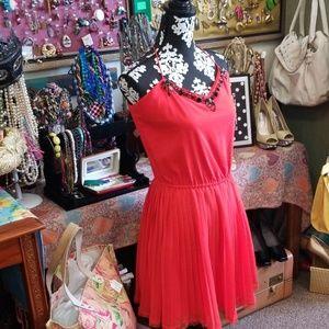Coral Victoria Secret Dress